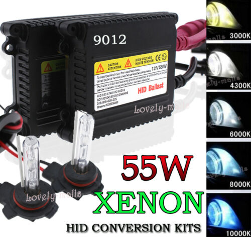 HID Xenon Headlight Conversion KIT Bulbs Hi//Lo Dual Beam Bi-Xenon H4 H13 9007 LQ