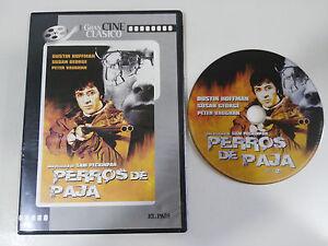 PERROS-DE-PAJA-DUSTIN-HOFFMAN-SAM-PECKINPAH-DVD-SLIM-REGION-2-ESPANOL-ENGLISH