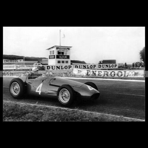 #pha.018619 Photo JEAN BEHRA MASERATI FP F1 GRAND PRIX 1960 Car