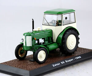 Zetor 50 Super RDA 1964 tractor país máquina remolcador listo modelo escala 1:32