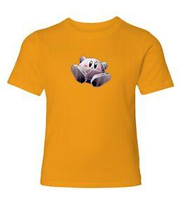 Nintendo-Super-Star-Kirby-Metal-Men-Women-Video-Game-Crew-Neck-Unisex-T-Shirt