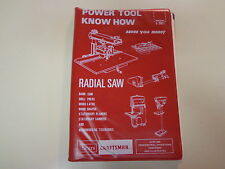 Sears Craftsman Power Tool Know How 1983 Band Saws Drill Press Manual
