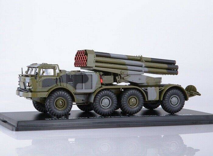 Start scale models (SSM) 1 43. zil-135lm 9k57  Uragan  multiple rocket launcher.