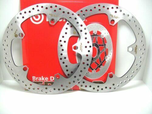 Dischi Freno Brembo Bmw R 1200 R 06 2006 Serie Oro Moto Coppia Anteriore Kit