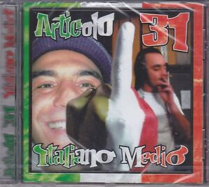 CD-Audio-ARTICOLO-31-J-AX-ITALIANO-MEDIO-nuovo-sigillato