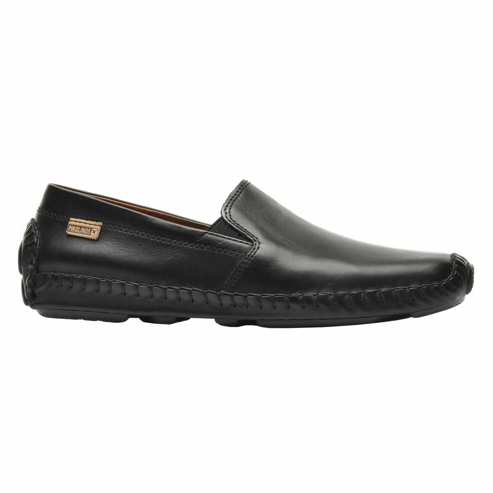 Pikolinos Jerez 09Z-5511 Black Mens Driving Loafers