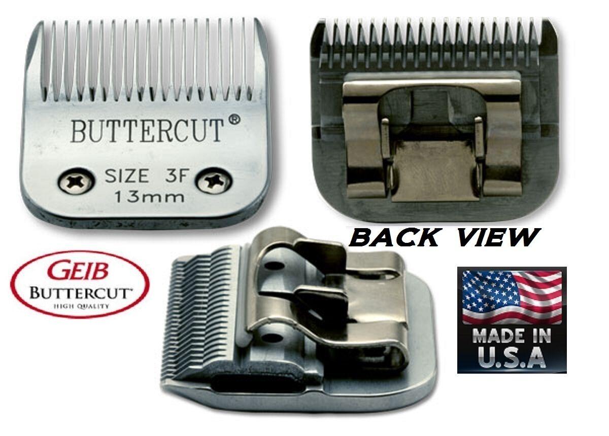 Geib Buttercut 3F 3FC Lama 1.3cm Tolettatura Animali Domestici per più