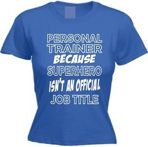 image is loading superhero personal trainer funny ladies t shirt birthday