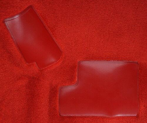 Front Set w//Pad Front 1984-1987 Corvette C4 Carpet Replacement Cutpile
