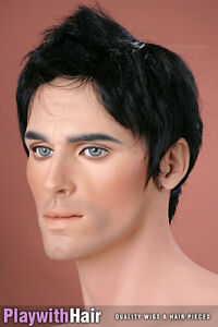 Stylish-NEW-Mens-Wig-COLOUR-CHOICES