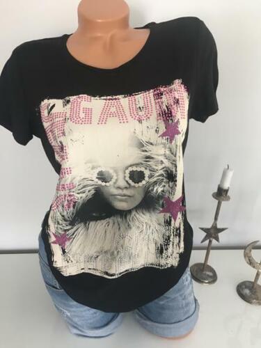 GAUDI Damen  T-Shirt  schwarz und weiß  NEU