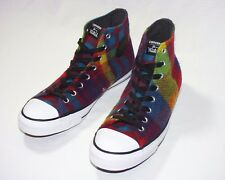 76c957d41370 Buy Converse by Woolrich Star Player Red Black Wool Plaid SNEAKERS ...
