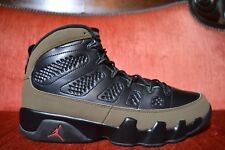 hot sale online ae706 a636b CLEAN Nike AIR JORDAN 9 IX RETRO Olive Nike Cool Grey Flint 10 302370 020  2012