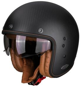 Helmet SCORPION Belfast Carbon Solid Black XXL