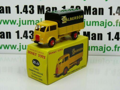 DT88E Coche Reedición Dinky Toys Atlas 25JJ Ford Camión Cubierto Calberson