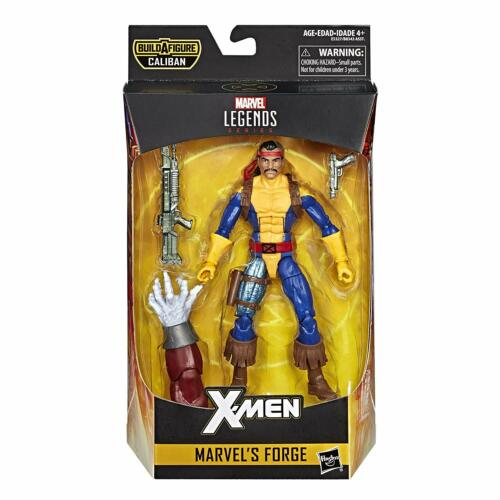 Case Fresh Mint MIMB IN HAND NOW Marvel Legends X-Men FORGE W// Caliban BAF