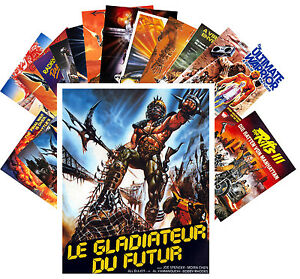 Postcards-Pack-24-cards-Postapocalyptic-Vintage-Trash-Movie-Poster-CC1071