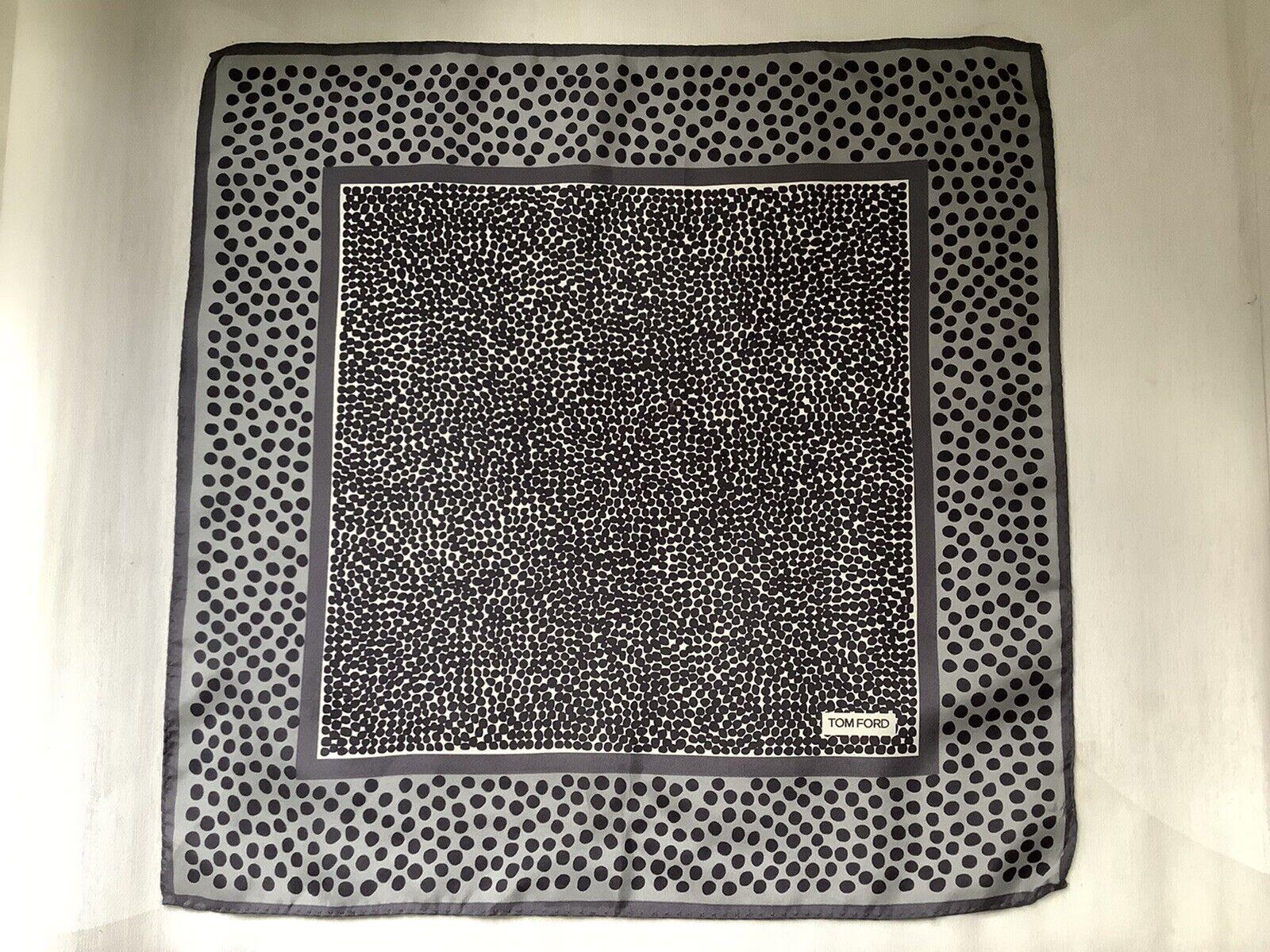Tom Ford Handkerchief 100% Silk Made In Italy