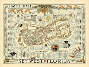 Details about 1940 pictorial map Key West Florida hotels landmarks on key west fl map, nassau hotel map, key west ferry map, key west marriott beachside hotel, doubletree grand key resort hotel map, islamorada hotel map, south beach hotel map, las vegas hotel map, rochester hotel map, eugene hotel map, key west bar map, key west bike map, marriott key west map, marco island hotel map, key west city map, key west resort map, fort lauderdale hotel map, key west map pdf, st petersburg hotel map, key west golf course map,