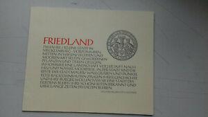 Grafikmappe 750 Jahre Friedland/Meckl. 1994 - S. Dittner - 29x24 cm - Potsdam, Deutschland - Grafikmappe 750 Jahre Friedland/Meckl. 1994 - S. Dittner - 29x24 cm - Potsdam, Deutschland