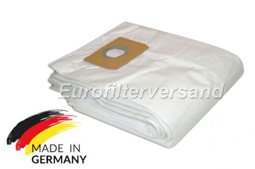 Tessuto non tessuto 10 sacchetto per la polvere per Würthmaster ISS 45 M Sacchetto per Aspirapolvere Filtro-BUSTINA