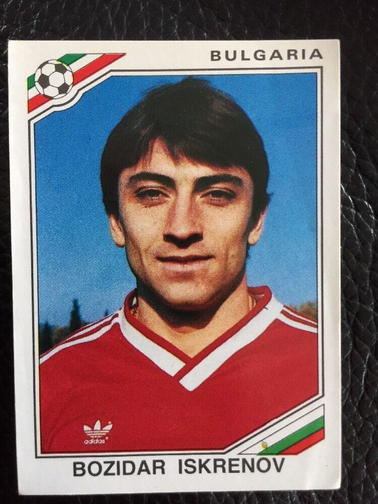 Panini mexico 86 Copa del Mundo - # 68 sea Iskrenov Bulgaria | eBay