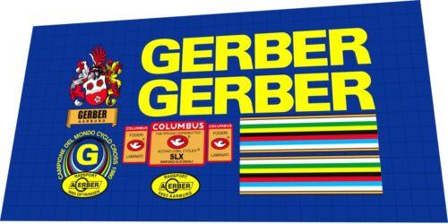 Decal Set GERBER Cyclo-Cross Frame Sticker