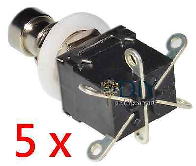 switch a levetta pedal clone DIY 5 x SPST ON-OFF toggle switch