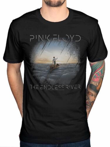 Officiel Pink Floyd la rivière interminables pochettes t-shirt rock band ventilateur MERCH