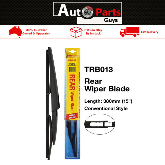 Tridon Rear Premium Quality Wiper Blade For Volvo XC90 06/03-12/12 TRB013
