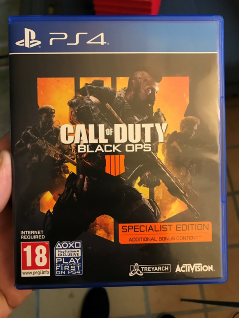 Call of duty Black OPS 4, PS4, FPS, Brugt i max en…