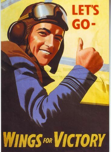 World War 2 Wings For Victory RAF Poster A3 A2 Print