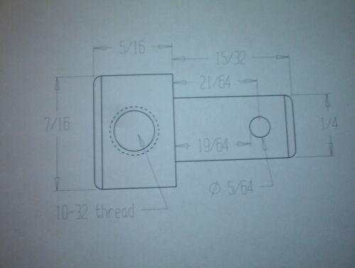 Qty 5 per package Throttle linkage swivels 10-32 thread x 1//4 pin