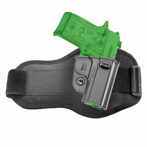 Details about Fobus Concealed Ankle Holster for Kimber Micro 9mm &  380cal  - KMSG A