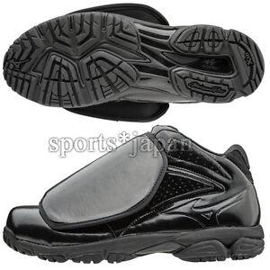 official photos 4f962 2927b Image is loading Mizuno-Japan-Baseball-Umpire-Shoes-Pro-Model-Black-