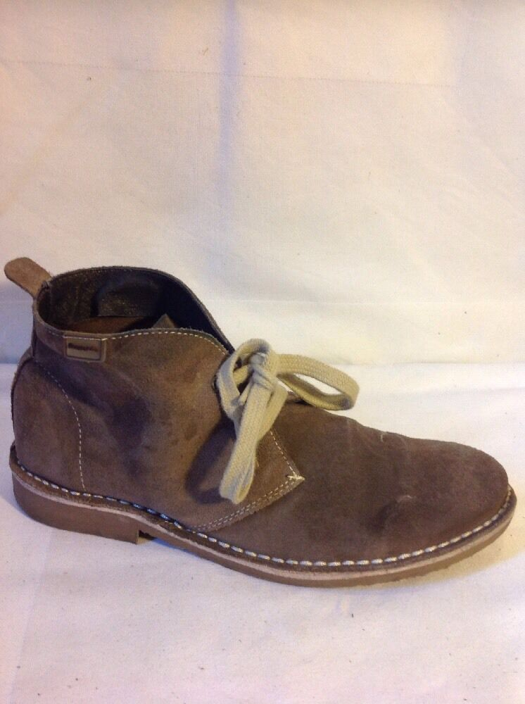 Beppi Brown Ankle Suede Boots Size 38