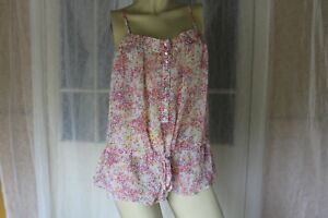 NO-SIZE-JUST-JEANS-SHEER-FLORAL-CAMISOLE-SINGLET-TOP-POST-ANY-5-ITEMS-FREE