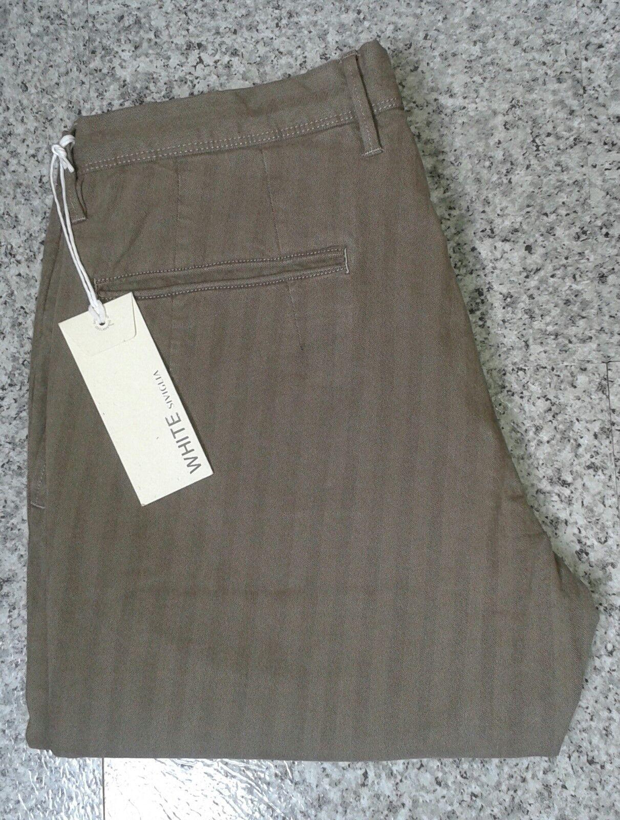 Siviglia Rare Dark Caramel braun Herringbone Striped Pants Trousers - W36 L34   Qualität zuerst    Moderne und elegante Mode    Treten Sie ein in die Welt der Spielzeuge und finden Sie eine Quelle des Glücks    Perfekte Verarbeitung