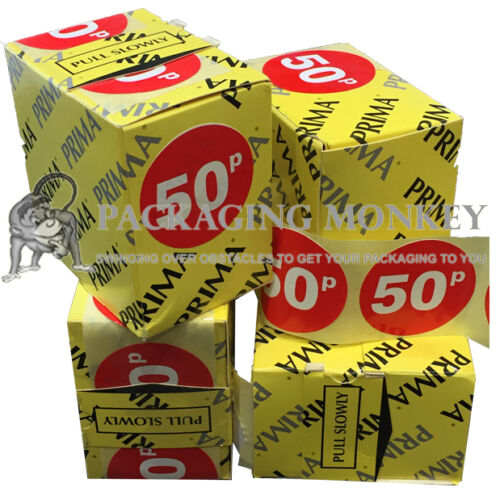 Price Labels Stickers 45mm HIGH QUALITY Red Shop Retail Self Adhesive Rolls FAST