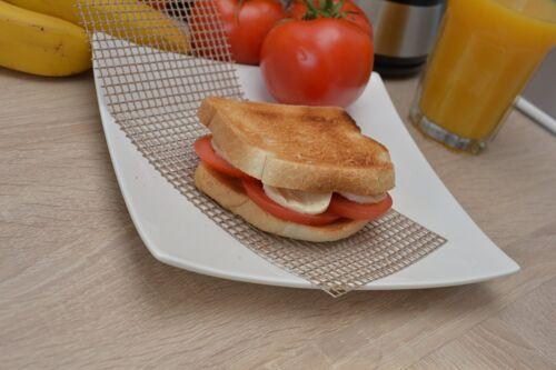 Toaster Mesh Sleeve Toasted Sandwich Teflon Bag Reusable bags toaster Toasties