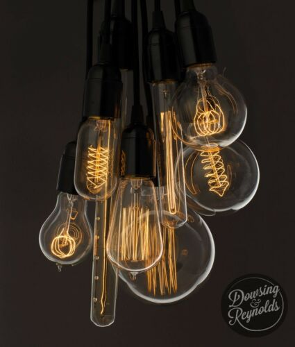 40w e27 screw Radio valve Vintage old fashioned Edison filament light bulb