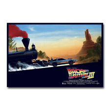 Back to the Future Hot Movie Art Silk Canvas Poster 12x18 24x36 inch
