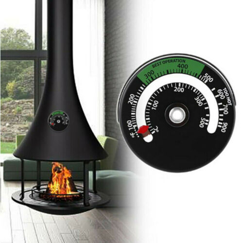 Fireplace thermometer Burner Kitchen Accessories Measurement Wood Tool Stove