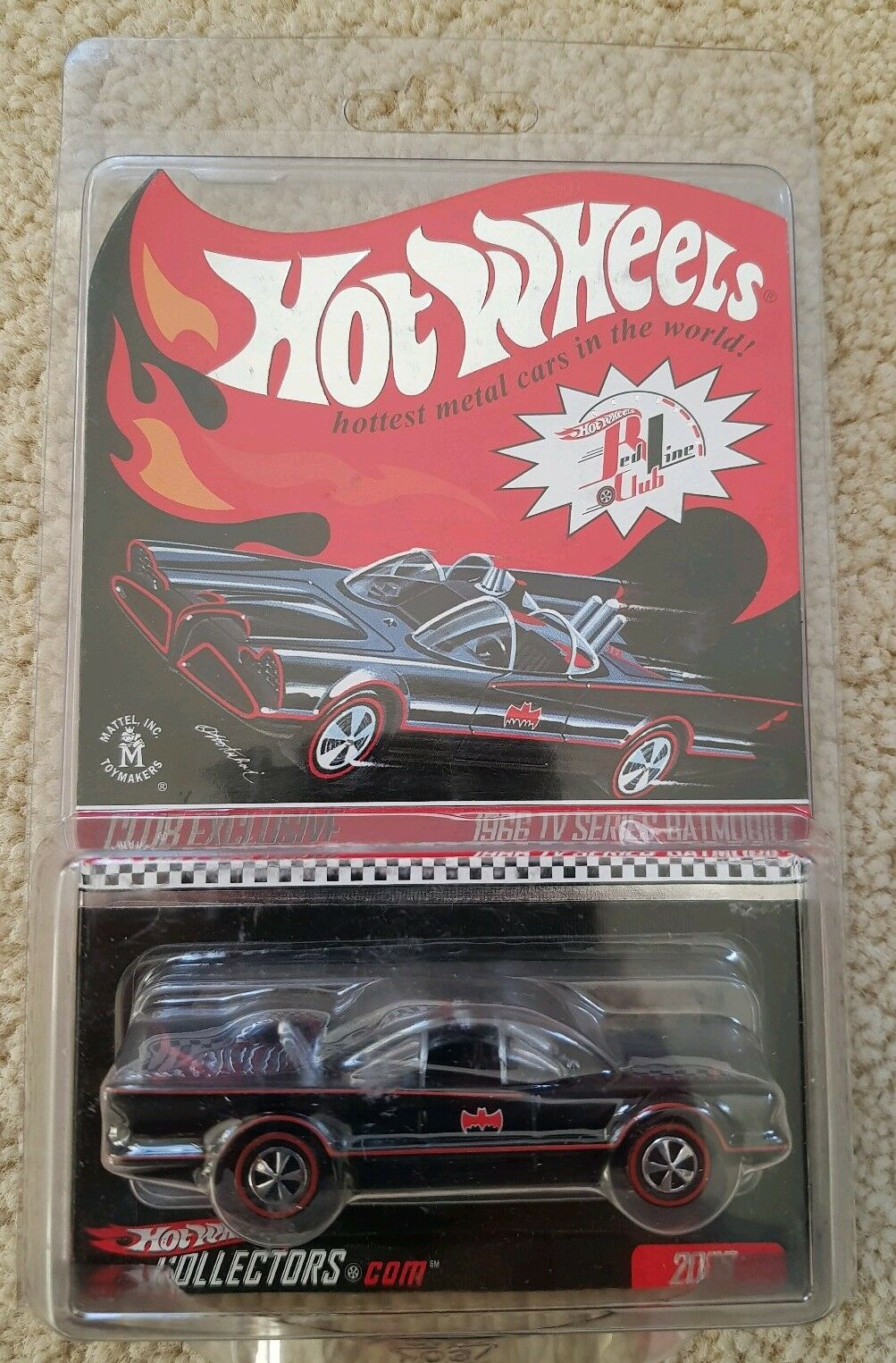 RARE Hot Wheels RLC 1966 TV Series Batmobile
