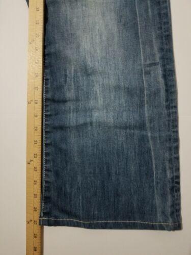 27 Jeans Sz entrejambe 42 Buffalo de Slim Fly 40 King botte waist Bitton Bouton O8xw0BPx