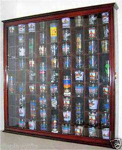 Image Is Loading 71 Shot Glass Display Case Wall Cabinet Shadow