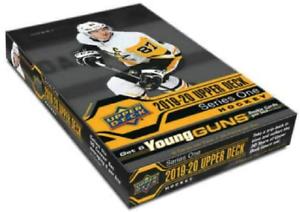 2019-20-Upper-Deck-Series-1-Hockey-Hobby-Box-New-Sealed-24-Packs-Per-Box-NHL-UD