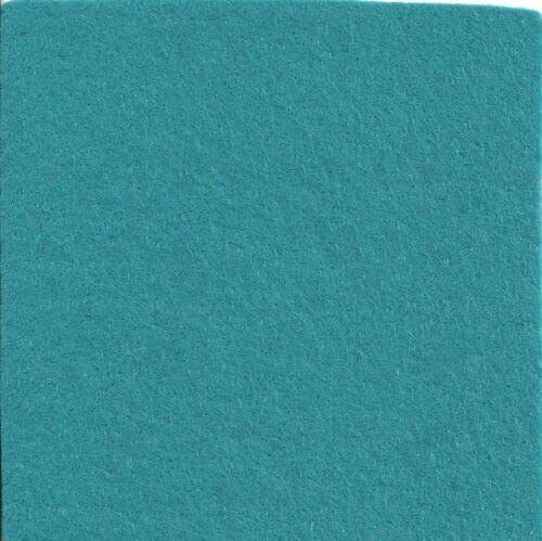 """Por 1//2 Metro-blue//green//natural Lana Matizado De Fieltro De Tela-de 36 /""""Bolt"""