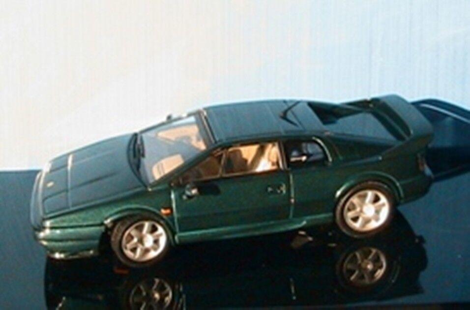 LOTUS ESPRIT V8 1996 RACING vert METALLIC AUTOART 55401 1 43 VERT vert GRUN