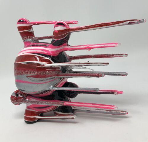 """Josh Mayhem Blown Away 5   Josh Mayhem Blown Away 5"""" Pink 11/20 Valentines Day Custom Sunny Kidrobot Toy"""